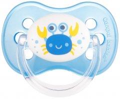 Пустышка латексная Canpol Babies Nature 6-18 мес Голубая (22/607 Голубой)