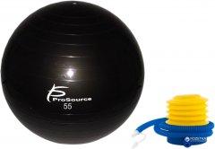 Гимнастический мяч ProSource Stability Exercise Ball 55 см Черный (PS-2205-sfb-55)