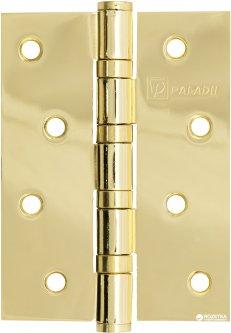 Петля дверная Paladii 100x75 мм универсальная 2 шт Желтая (ПП065)