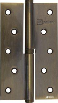 Петля дверная Paladii 125x75 мм правая 2 шт Бронзовая (ПП052)