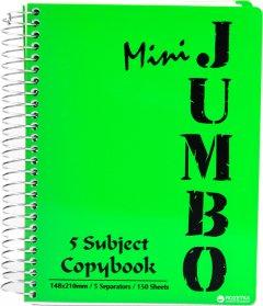 Блокнот Mintra Micro Jumbo A6 в линейку 150 листов Зеленый (982156)