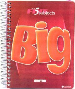 Блокнот Mintra Big A5 в клетку 160 листов Красный (982452)