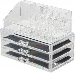 Органайзер для косметики и аксессуаров Mindo двухуровневый с 3 ящичками (yh-1304) (2500000002557)