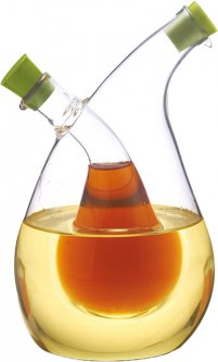 Бутылка для масла и уксуса 2 в 1 Fissman 75 / 350 мл (OV-7522.350)