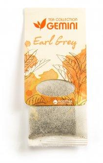 Чай черный пакетированный Gemini Tea Collection Earl Grey 15 пакетиков (4820156430218)