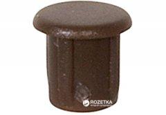Заглушка отверстия Hafele D5/6.6 RAL8014 Темно-коричневая 500 шт (045.20.102)