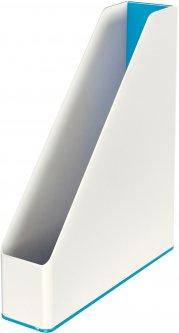 Вертикальный лоток Leitz WOW Белый с синим (53621036)