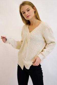 Пуловер Remix 1271 One Size Молочный (2950006339766)