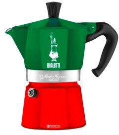 Гейзерная кофеварка Bialetti Moka Express Italia 135 мл (0005322)