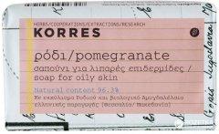 Мыло для жирной кожи лица Korres с гранатом 125 г (5203069039195)