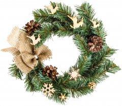 Венок Новогодько (YES! Fun) Небесная почта 17.5 см Зеленый (4820079037839)