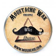 Воск для усов WizGrease Medium Hold с ароматом ананаса 13 мл (13191)