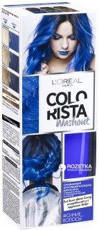 Смываемый красящий бальзам для волос L'Oreal Paris Colorista Washout оттенок Синие волосы 80 мл (3600523414048)