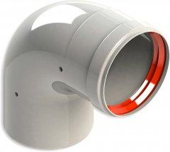 Колено раструб GROPPALLI для традиционных котлов 90°, 80 мм (A3111049)