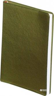 Ежедневник недатированный Buromax Metallic А6 из искусственной кожи на 288 страниц Зеленый (BM.2613-04)