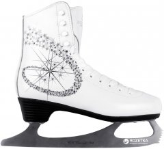 Коньки фигурные СК Princess Lux 100% Leather 25 White (23142375)