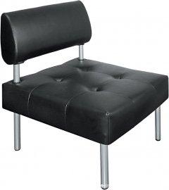 Офисный диван Примтекс Плюс D 02 D-5 Черный