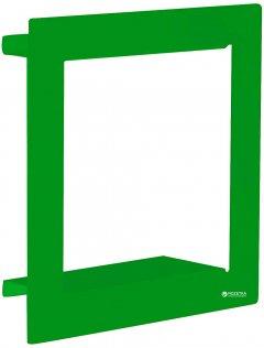Декоративная полка Element System Frame 29 х 29 х 9 см Зеленая (11338-00001)