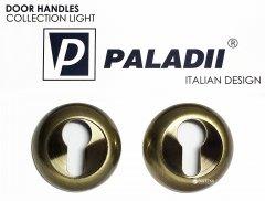 Накладка дверная Paladii круглая бронза (ПР126)