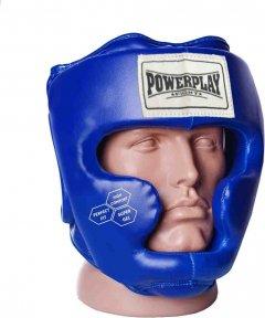 Боксерский шлем PowerPlay 3043 S Синий (PP_3043_S_Blue)
