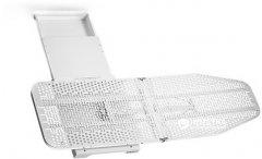 Гладильная доска Hafele Ironfix встроенная выдвижная поворотная без чехла 500 мм 40 кг Белый (568.60.790)