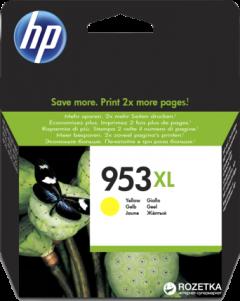 Картридж HP No.953XL Officejet Pro 8210/8710/8720/8725/8730 Yellow (F6U18AE)