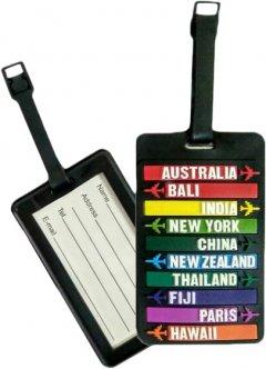 Бирка для чемодана Travelite Accessories Countries (TL000015-913)