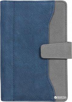 Бизнес-органайзер Optima 190х130 мм 96 страниц Сине-серый (O27175-02)
