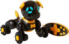 Маленький щенок WowWee Чип Черный (W2804/3819)