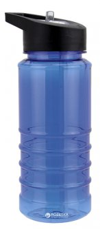 Бутылка для воды Bergamo 550 мл Синяя (2221-3)
