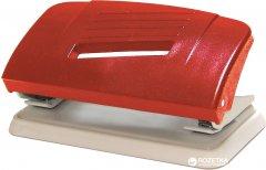 Дырокол пластиковый Norma 10 листов Красный (8591662432718)