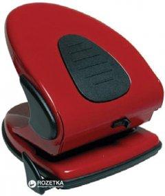 Дырокол металлический с линейкой Scholz 45 листов Красный (8591662431513)