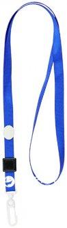 Шнурок для бейджа с карабином Axent 20 шт Синий (4531-02-A)