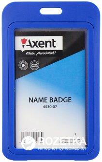 Набор бейджей Axent вертикальный 5 шт 70x110 мм Синий (4530-07-A)