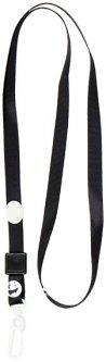 Шнурок для бейджа с карабином Axent 20 шт Черный (4531-01-A)