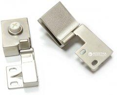 Петля для стекла Smart угловая (левая/правая) Матовый никель (VR52428)