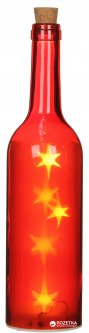 Композиция House of Seasons декоративная бутылка Красный (8718861171969)