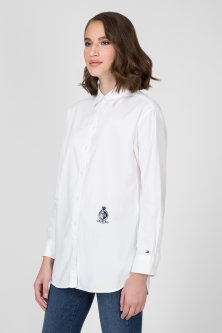 Жіноча біла сорочка FAWN BOYFRIEND SHIRT Tommy Hilfiger 6 WW0WW25624