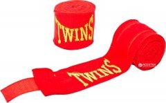 Бинты боксерские Twins 3 м Красные (5466-3-4)