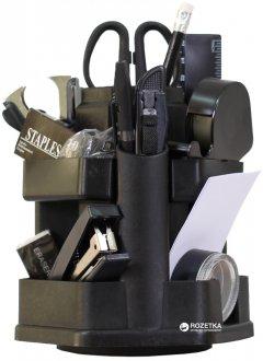 Настольный набор 4Office 16 предметов Черный (4820071012582)