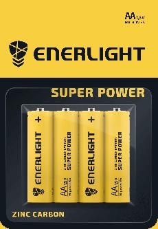 Батарейка Enerlight Super Power AA 4 шт (80060104)