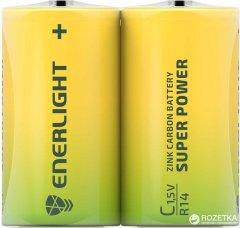 Батарейка Enerlight Super Power C 2 шт (80140202)