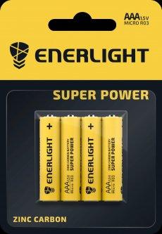 Батарейка Enerlight Super Power AAA 4 шт (80030104)