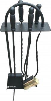 Каминный набор UaStal Практик 4 единицы Черный (002112200170)