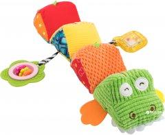 Мягкая игрушка-гусеница Baby Team Крокодил (8534)
