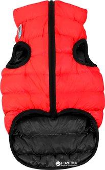 Двусторонняя курточка для собак Airy Vest для маленьких собак XS 30 Красно-черная (1589)