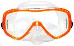 Маска Marlin Look Оранжевая с прозрачным (013135)