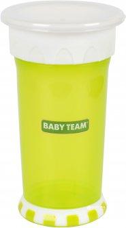 Поильник-непроливайка Baby Team 360 350 мл Салатовый (5030_Салатовый) (4824428050302)