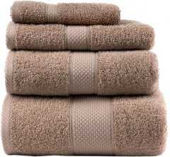 Махровое полотенце Arya Miranda Soft 100х150 Бежевое (8680943039651)