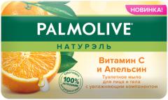 Туалетное мыло для лица и тела Palmolive Натурэль Витамин С и Апельсин 150 г (8718951317437)